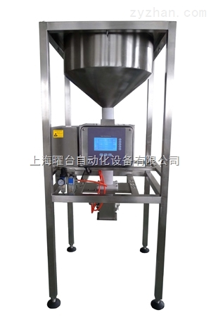 热销型药粉专用下落式金属检测机