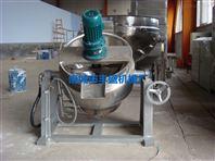 300L医药专用蒸煮锅 丰盛多功能蒸煮夹层锅 立式夹层锅