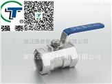厂销 不锈钢内螺纹连接一片式球阀Q11F 丝扣管件