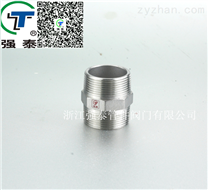 【生产直销】强泰不锈钢丝扣螺纹 六角外丝 丝扣管件 DN50