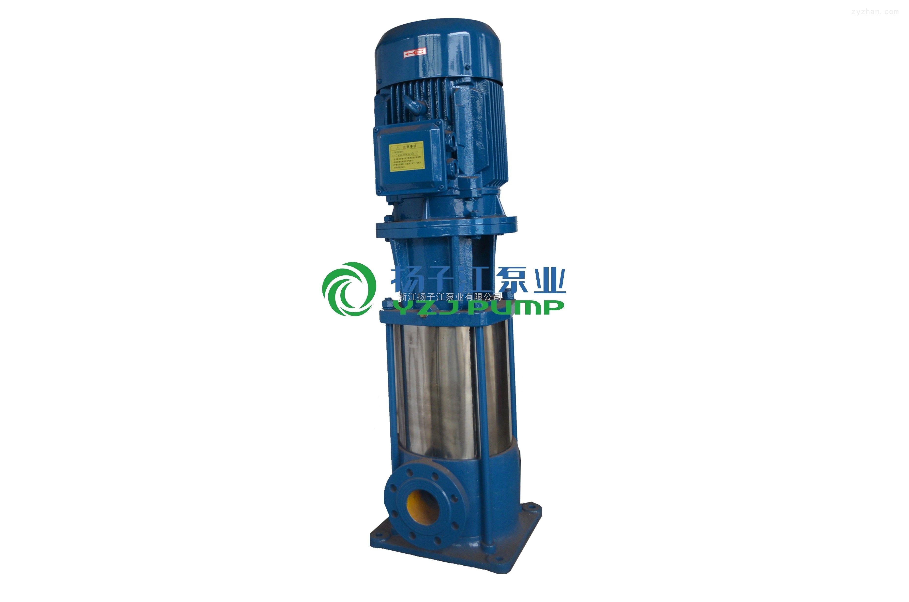 管道离心泵:gdl型立式多级管道泵图片