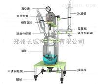 供应多种型号双层玻璃反应釜