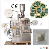 廣州內外袋袋泡茶自動掛線標包裝機械