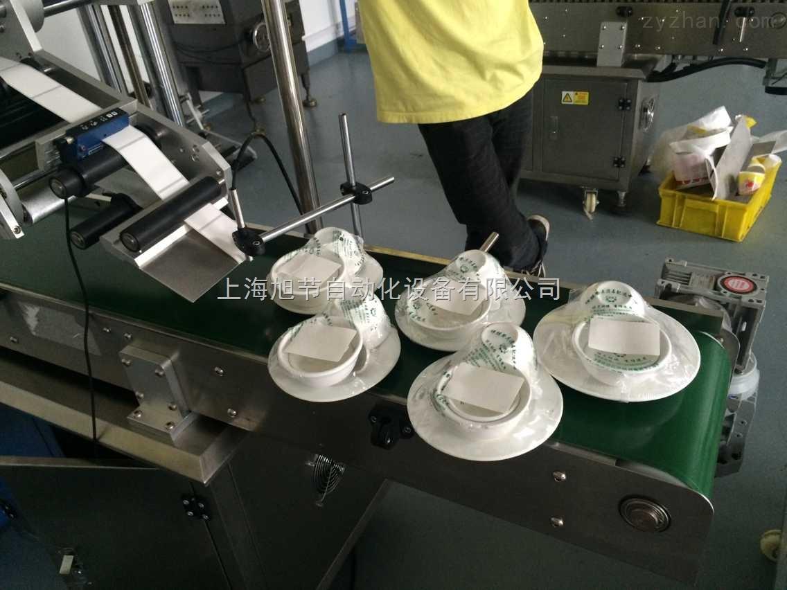 中国消毒餐具贴标机 传媒广告贴标机