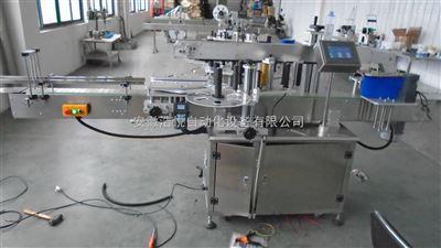 矿泉水专用双侧面贴标机
