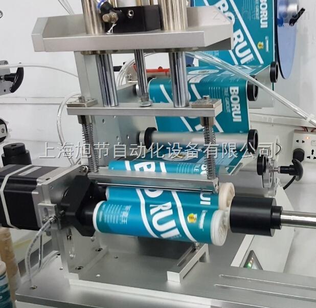缝彩美缝剂贴标机 双组份美缝剂贴标机