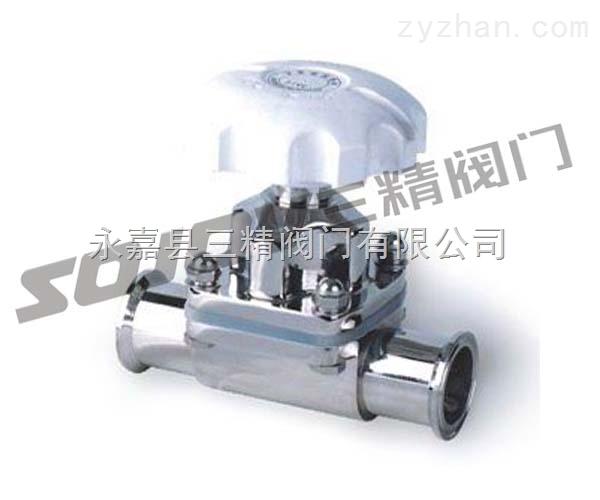 隔膜阀图片系列:G41W卫生级隔膜阀,不锈钢隔膜阀