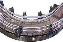 供應轉彎鏈板輸送機|塑鋼鏈板輸送機