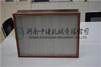 无尘车间通用用耐250℃高温铝隔板高效空气过滤器厂家选中谦