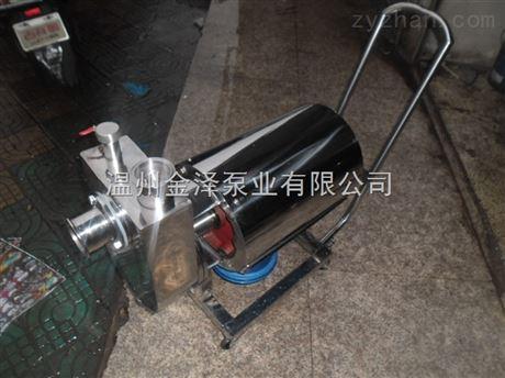 食品级JZB不锈钢饮料泵使用说明