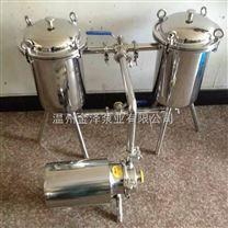 不锈钢桶式双联过滤器