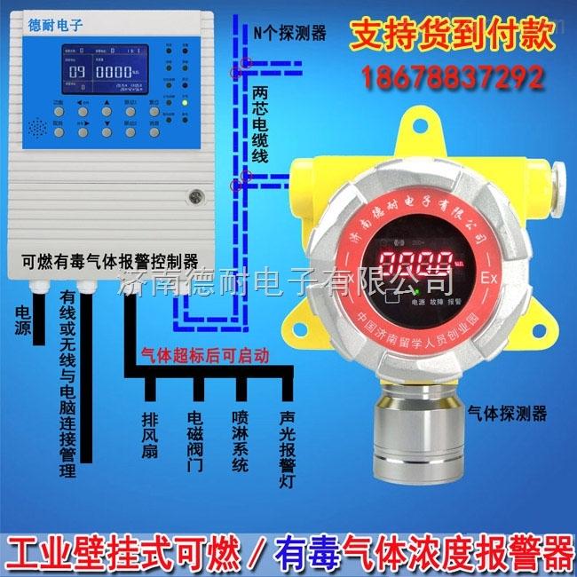 工业罐区煤气浓度报警器,气体浓度报警器安装接线图