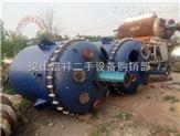 二手设备供应3吨不锈钢搪瓷反应釜