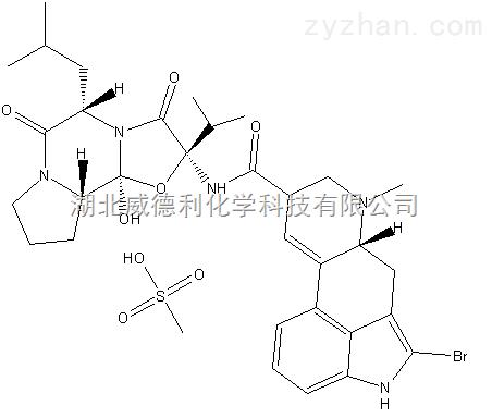 甲磺酸溴隐亭原料中间体22260-51-1
