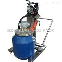 防爆推車式氣動攪拌機 自動升降醫藥藥液分散機