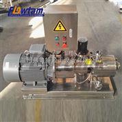 不銹鋼食品級高剪切均質乳化泵