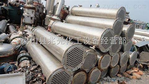 二手100平方全不锈钢列管式冷凝器304材质