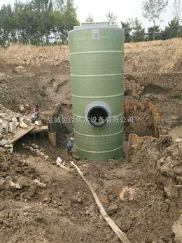 河北青海雨水提升一体化泵站