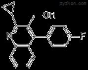 2-环丙基-4-(4-氟苯基)-3-喹啉甲醇