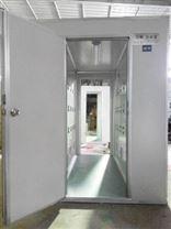 山東QS認證單人雙吹風淋室風淋機風淋房廠家