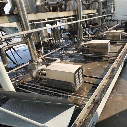 三效一吨钛材蒸发器整套设备出售