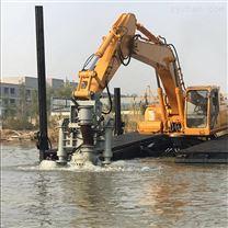大口径挖掘机液压矿粉泵