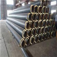 DN80唐山管径89钢套钢蒸汽发泡保温管道现场施工