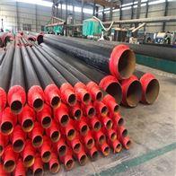 管径478聚氨酯预制直埋夹克保温管厂家工程