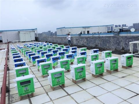 武汉工扬尘在线监测和联动喷淋设备的安装