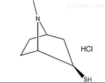 托品-3-硫醇盐酸盐