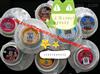 文化传媒消毒餐具广告贴标机