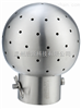 卫生级焊接固定式清洗球
